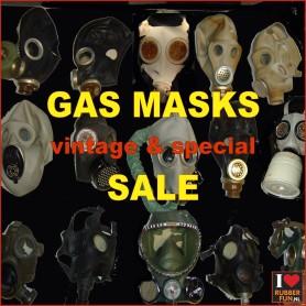 SALE - Gas masks - one offs