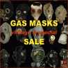 SALE - Gas masks - one offs