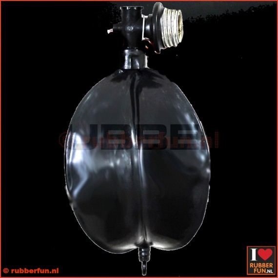 Gas mask rebreather bag