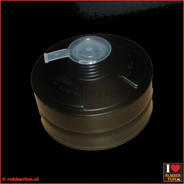 Gas mask filter - 40 mm thread - deco