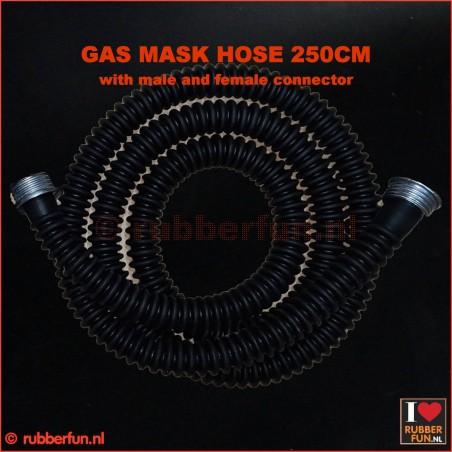 Gas mask hose - XXXL size - 250 cm - premium quality