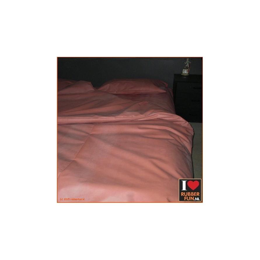 Rubber bed set 2 - bottom sheet plus pillow case